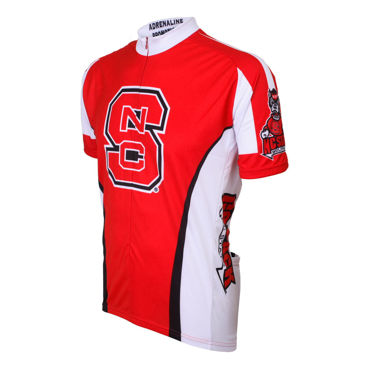 Image of Adrenaline Promotions North Carolina State Wolfpack Cycling Jersey