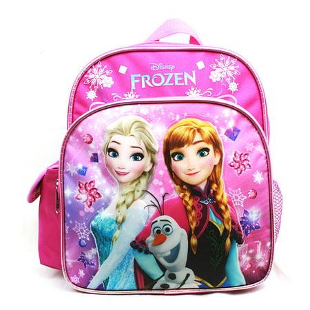 Mini Backpack - Disney - Frozen - Elsa Olaf & Anna Pink New A08150PK
