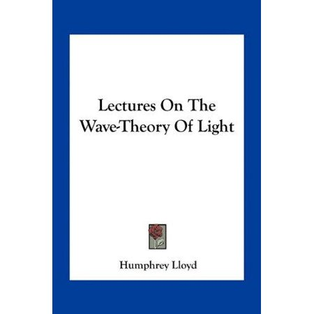 Lectures on the Wave-Theory of Light - image 1 de 1