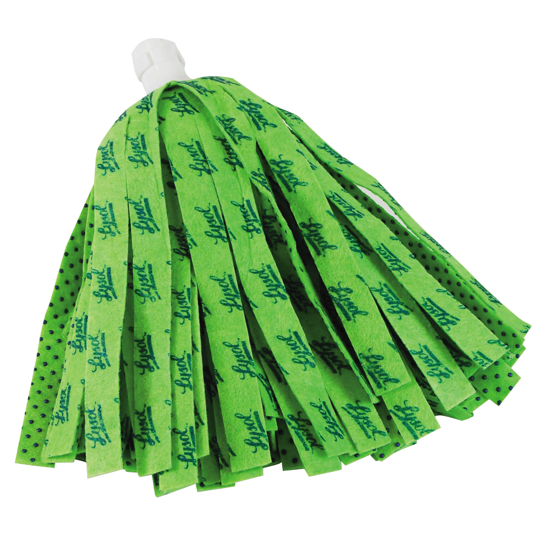 "LYSOL Brand Self Wringing Mop Head Refill, 11"", Green"