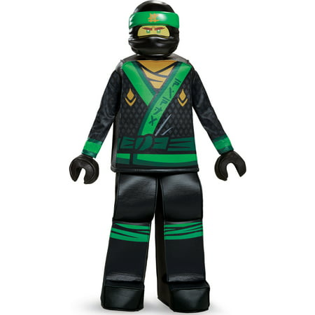Child's Boys Prestige LEGO® Ninjago Movie Green Ninja Lloyd Costume