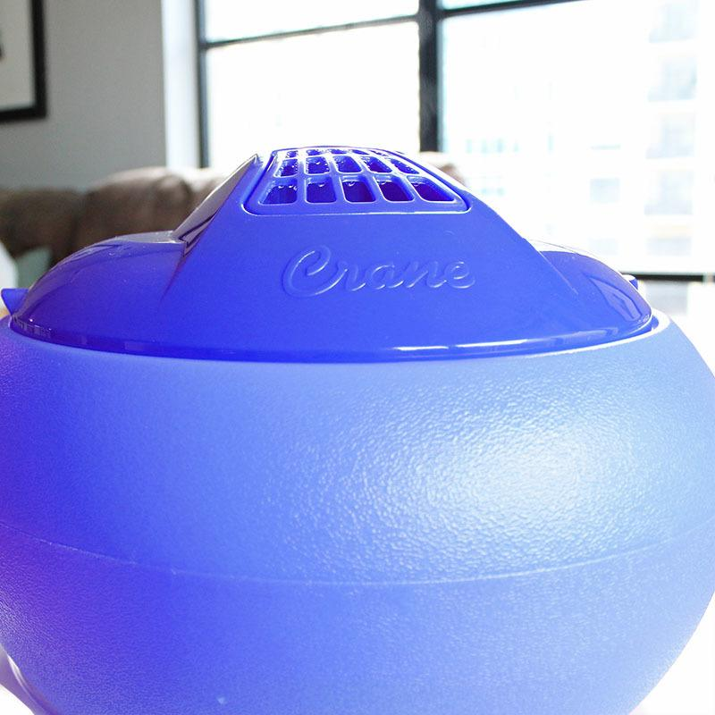 Crane Classic Warm Steam Vaporizer - Blue