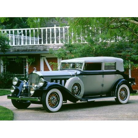 1930 Pierce Arrow 7 passenger phaeton Print Wall Art