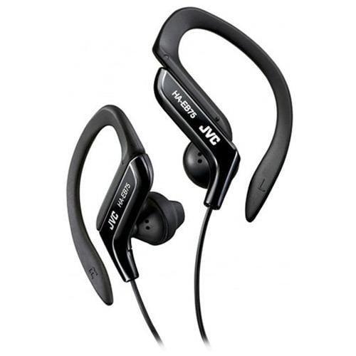 Jvc Sport Ha-eb75b Earphone - Stereo Over-the-ear - Binaural - Semi-open - Mini-phone - Black (haeb75b)