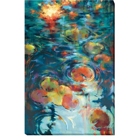 Dancing on The Water by Donna Young Premium Gallery-Wrapped Canvas Giclee Art - 24 x 36 x 1.5 in. - image 1 de 1