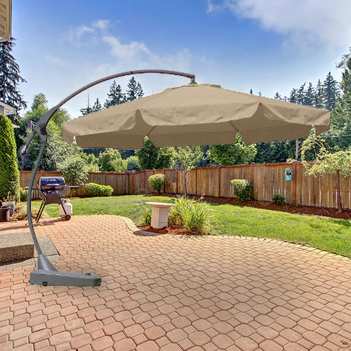 Garden Winds Replacement Canopy Top for Target 10ft Offset Umbrella