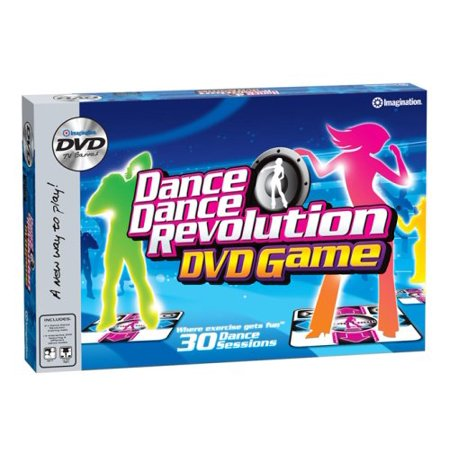 Imagination Dance Dance Revolution DVD Game - image 1 of 1