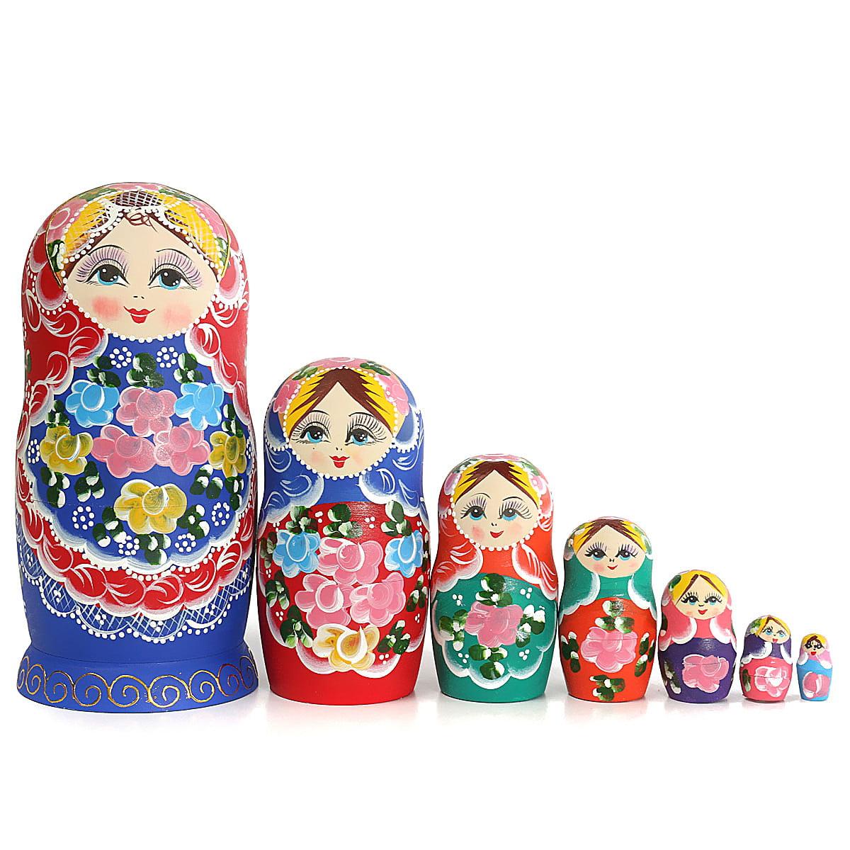 DIY Russian Nesting Dolls Matryoshka Babushka Dolls Toy ...