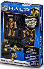 Halo UNSC Armory Pack Set Mega Bloks 96951 by