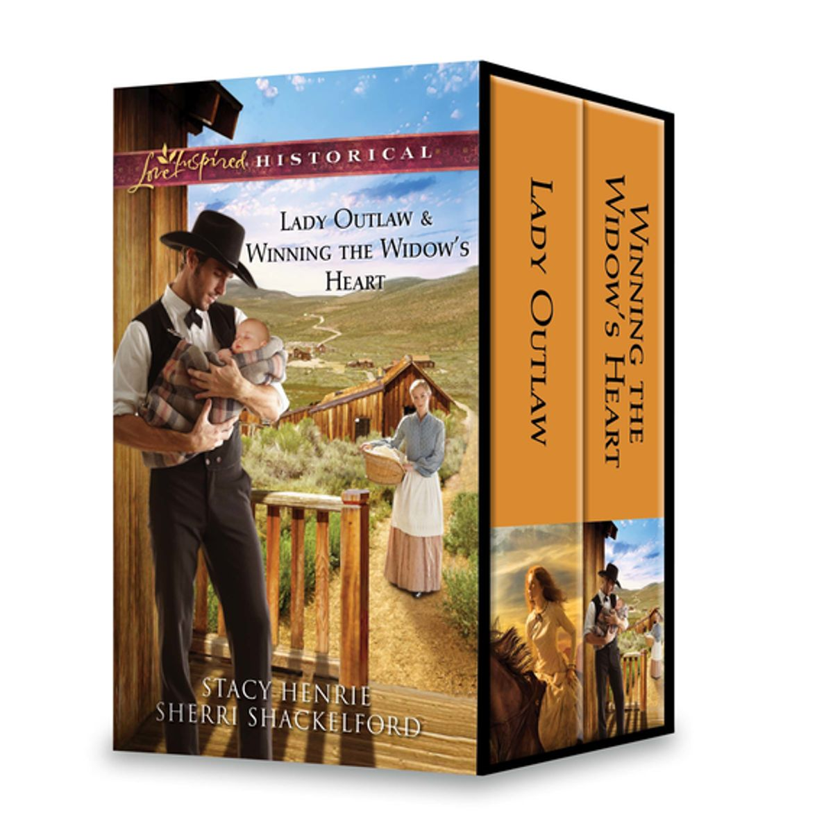 Lady Outlaw & Winning the Widow's Heart - eBook