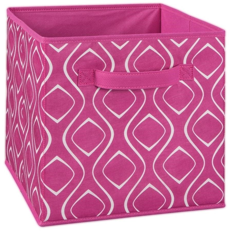 ClosetMaid Fabric Drawer, Fuschia Diamond