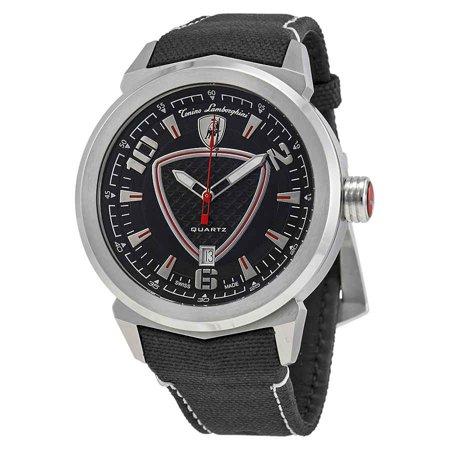 Tonino Lamborghini Watch >> Lamborghini Tonino Lamborghini Black Dial Men S Watch 5041 01 Walmart Com