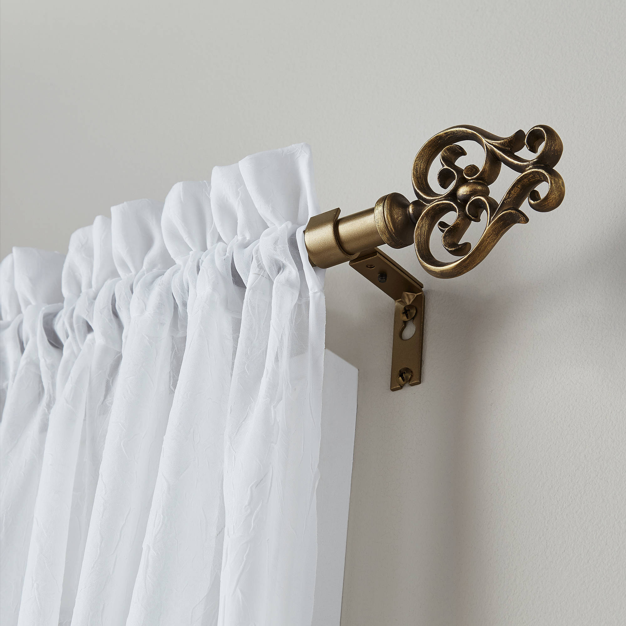 Better Homes and Gardens Savannah Scroll Curtain Rod