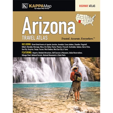 Universal Map Arizona Travel Atlas