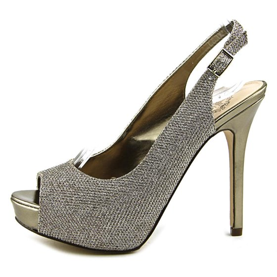 Brand & Style - I. Miller Sylvana Width - Medium (B, M) True Color - Latte  Upper Material - Fabric Outsole Material - Leather Heel Height - 5 Inches