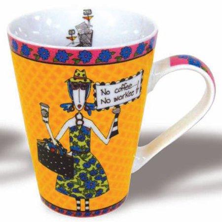 - NO COFFEE - Mug, Dolly Mama Mug No Coffee No Workee.. By Dolly Mama from