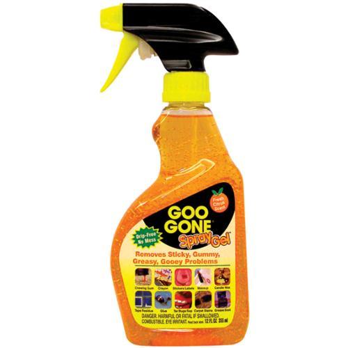 Goo Gone Remover Spray Gel-12 Ounces