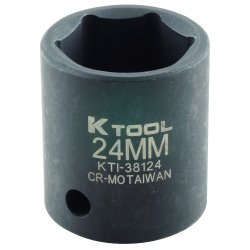 SOCKET IMPACT MET 1/2DR 24MM