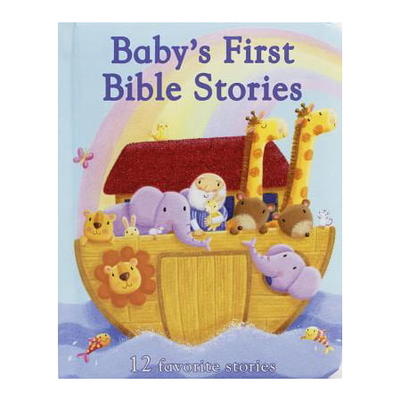 Baby's First Bible Stories: 12 Favorite Stories (Board Book) - Halloween Flannel Board Stories