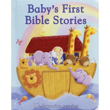 Baby's First Bible Stories: 12 Favorite Stories (Board