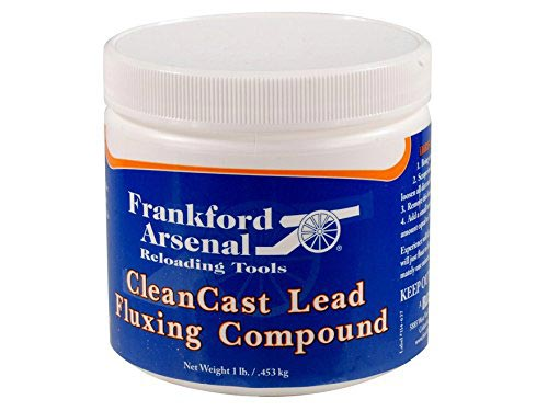 Click here to buy Frankford Arsenal Clean Cast Lead Flux by Frankford Arsenal.