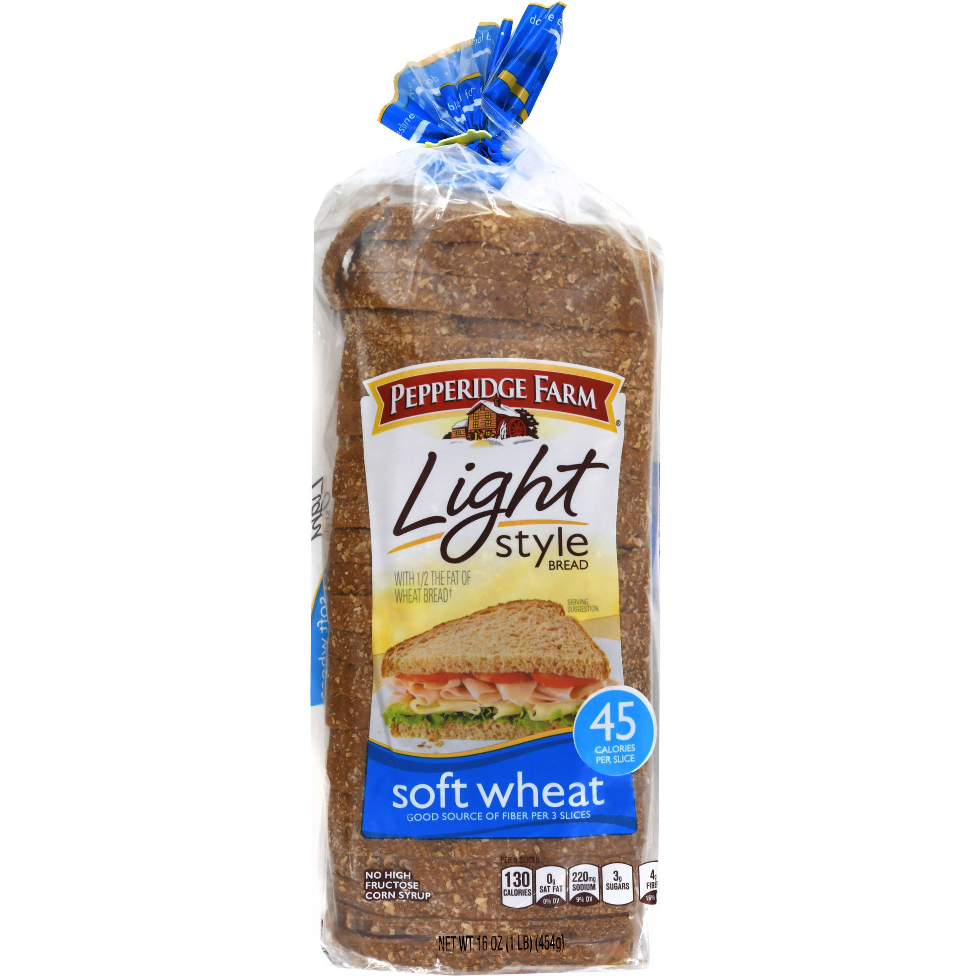 Pepperidge Farm Light Style Soft Wheat Bread 16oz Pack
