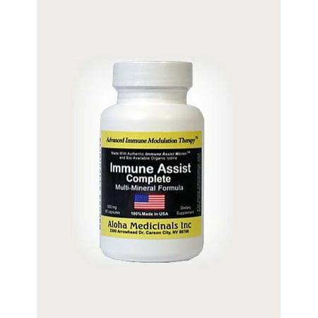 Aloha Medicinals Immune Assist Complete 500 mg - 60 Capsules