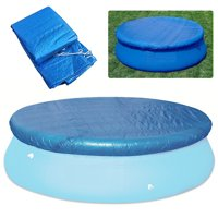 Round Pool Cover Water Resistant PE Swimming Pool Cover