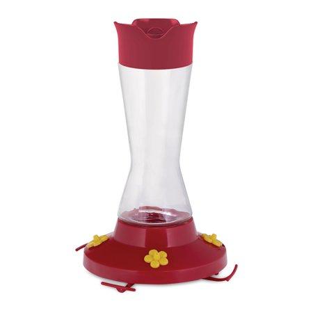 Perky-Pet 16 oz Pinch Waist Glass Hummingbird Feeder