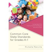 Common Core State Standards for Grades K-1 - eBook