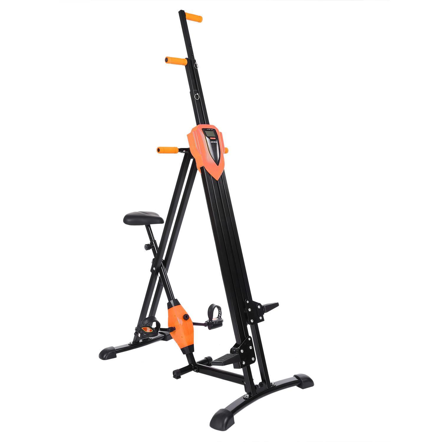 Climbing Machine Foldable Vertical Exercise Cardio Total ...