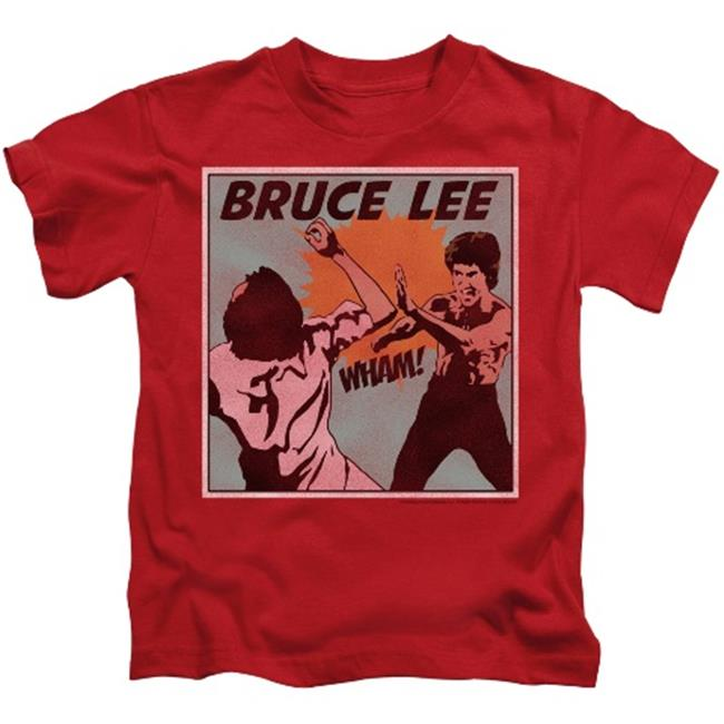 Trevco Bruce Lee-Comic Panel - Short Sleeve Juvenile 18-1 Tee - Red, Large 7