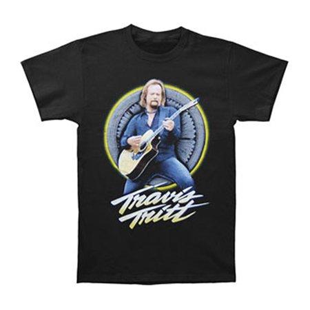 Travis Tritt Mens  Live Photo 2011 Tour T Shirt Black