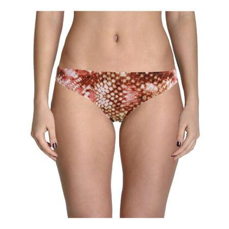 Retro Tie Bottoms (Radio Fiji Womens Printed Retro Swim Bottom Separates )