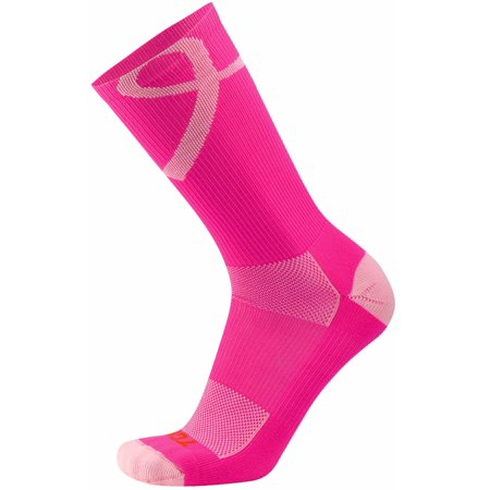 Twin City Breast Cancer Awareness Crew Socks