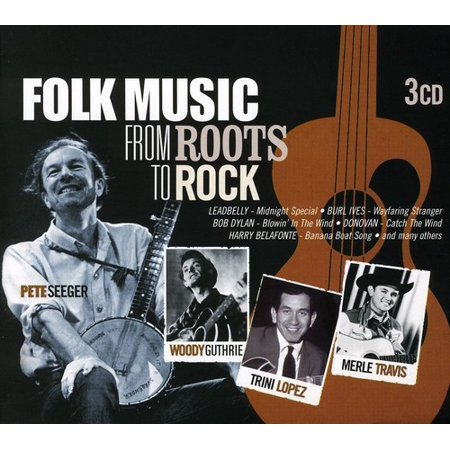 Folk Music From Roots to Rock - Folk Music From Roots to Rock [CD]