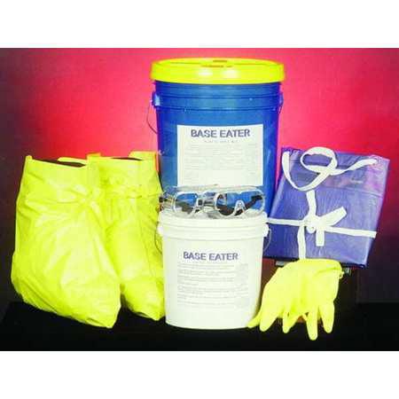 SPILL BUSTER 4902-005 Base Neutralizer Kit,5 gal.,Lab - Base Neutralizer