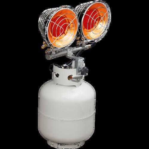 Procom 30,000 BTU Portable Dual Tank Top Heater