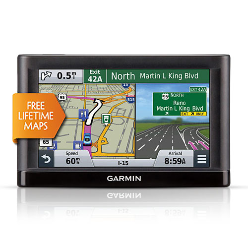 "Garmin 010-01198-01 Nuvi 55LM 5"" GPS w/ Free Lifetime Map Updates"