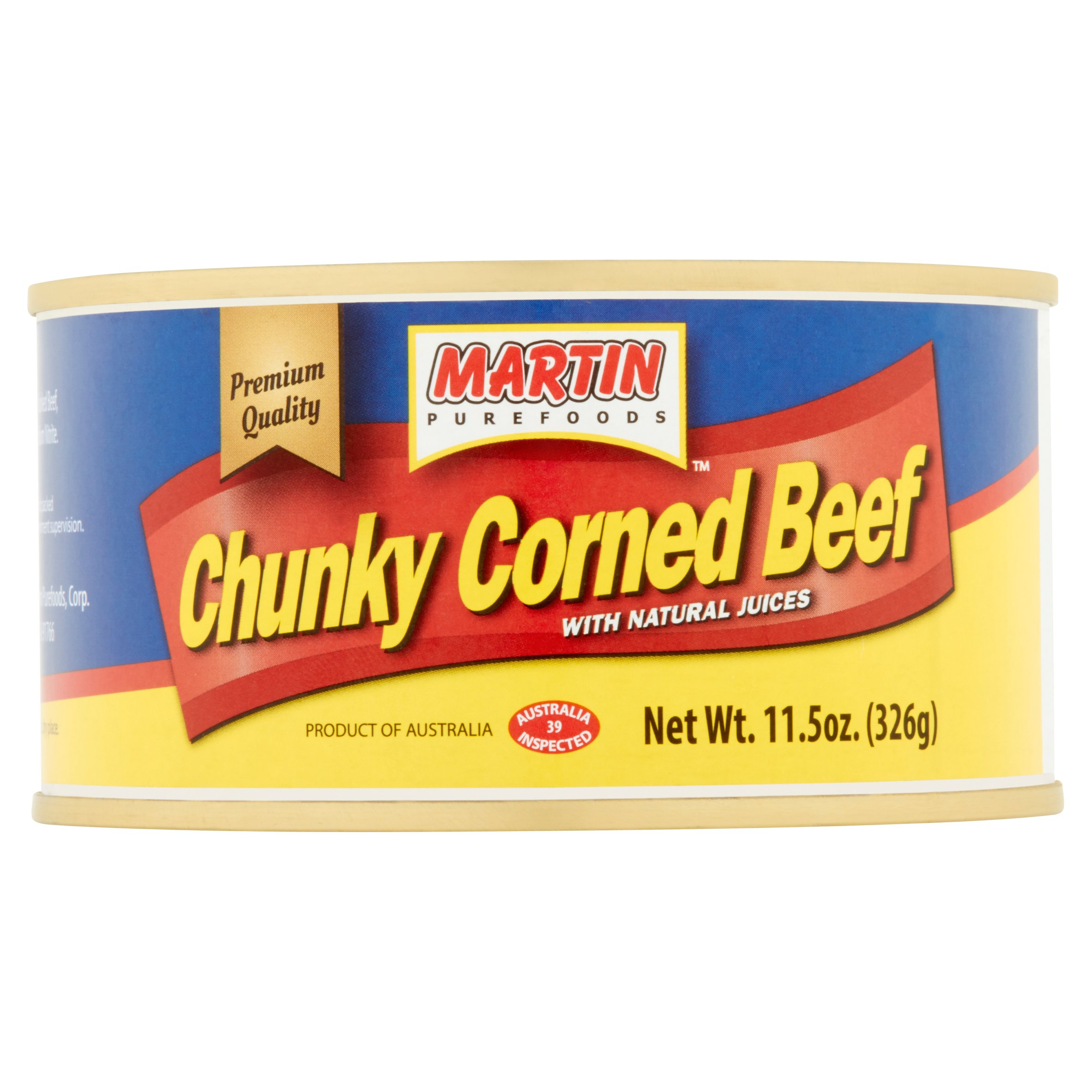 Martin Purefoods Chunky Corned Beef, 11.5 oz by Martin Purefoods, Corp.