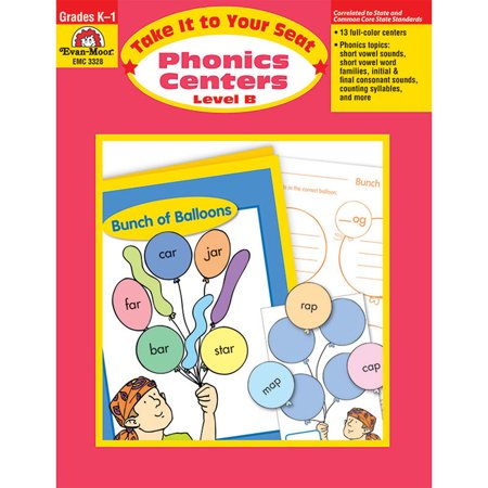 TAKE IT TO YOUR SEAT PHONICS CENTERS LEVEL B ()
