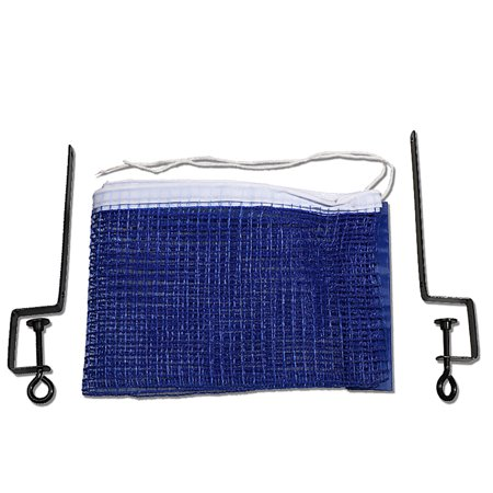 Outdoor Universal Table Tennis Net Gym Replacement Sport Supplies Portable Foldable Pingpong Mesh with 2 Iron Stand