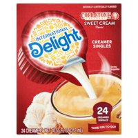 (4 Pack) International Delight Cold Stone Sweet Cream Creamers, 24 Ct