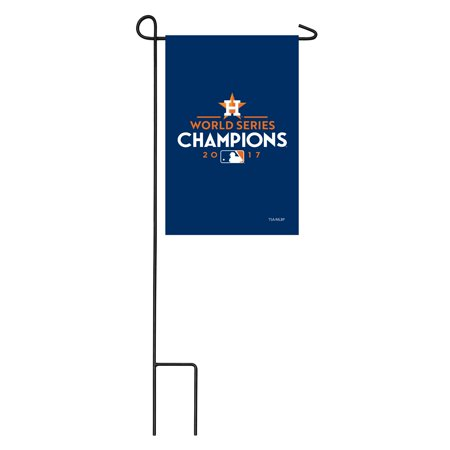 Houston Astros 2017 World Series Champions 11'' x 18'' Applique Garden Flag - No Size ()