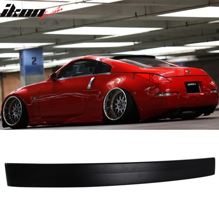 Fits 03-08 Nissan 350Z RS Style Unpainted Roof Spoiler Wing - ABS (E36 Roof Spoiler)