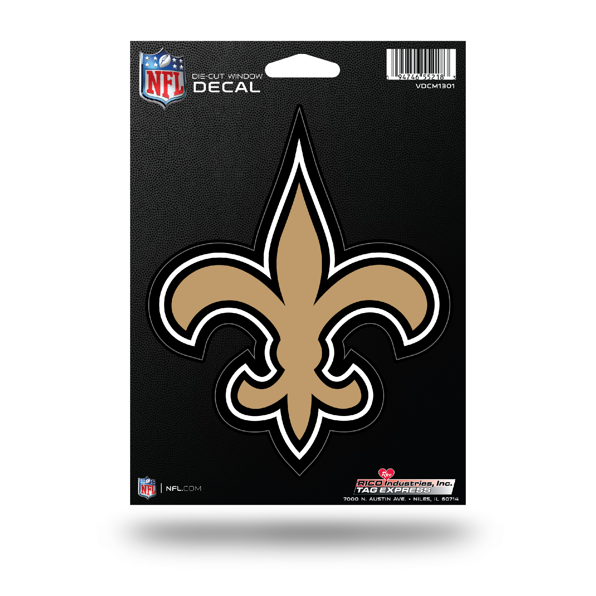 New Orleans Saints Die Cut Vinyl Decal