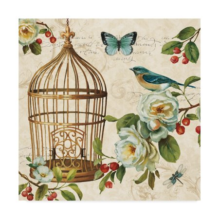 Trademark Fine Art 'Free as a Bird II ' Canvas Art by Lisa Audit