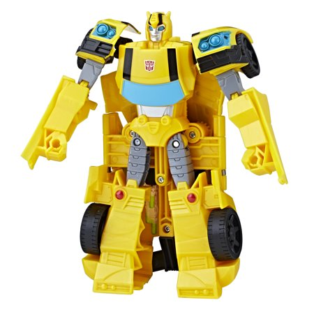 Transformers Toys Cyberverse Action Attackers Ultra Class Bumblebee Action Figure (Bionic Six Toys)