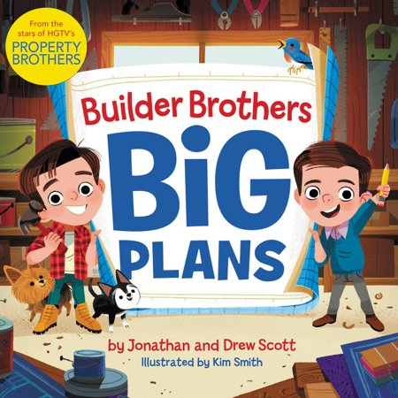 Builder Brothers: Big Plans (Hardcover)
