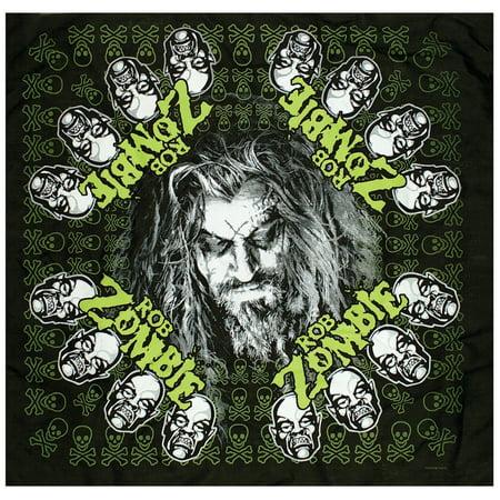 Rob Zombie Hellbilly - Logo - Bandana - Rob Zombie Clown
